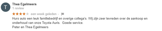 huro google review
